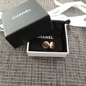 Chanel Ear stud gold-colored-cream