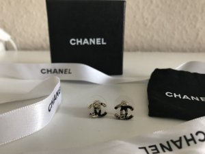 Chanel Ear stud gold-colored-black