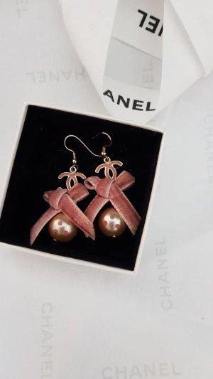 Chanel Ohrringe mit Schleife