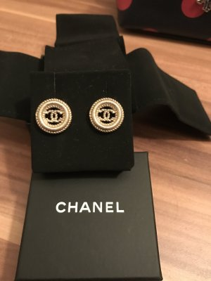 Chanel ohrringe strass