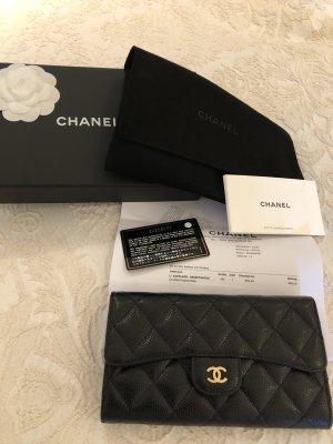 Chanel Orginal Geldbörse schwarz neu