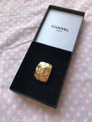 Chanel Original Brosche vergoldet