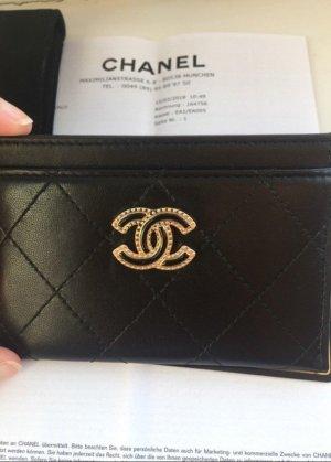 Chanel Original + Rechnung Kartenetui Card Holder Tasche Etui Geldbörse Neu