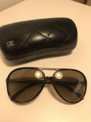 Chanel Original Sonnenbrille braun