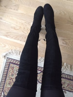 Chanel over the knee boots