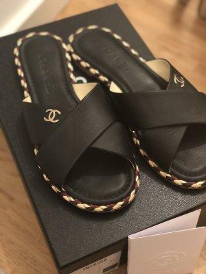 Chanel Pantolettes Gr. 38