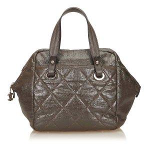 Chanel Handbag green imitation leather