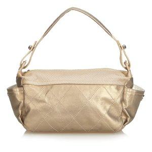 Chanel Bolsa de hombro color oro
