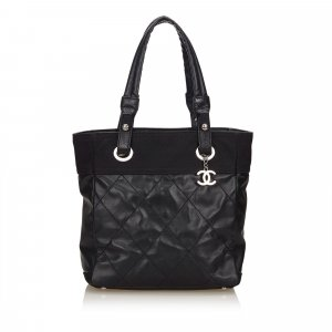 Chanel Borsa larga nero