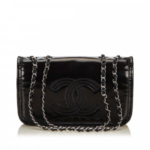 Chanel Patent Leather Chain Bag