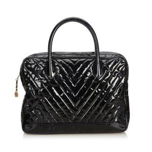 Chanel Bolso business negro Imitación de cuero