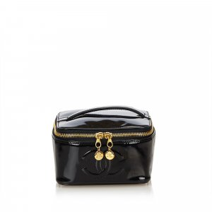 Chanel Patent Leather Vanity Bag