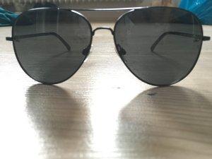 Chanel Pilotenbrille Schwarz