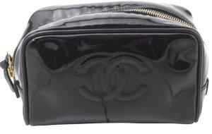 Chanel Borsa clutch nero Pelle