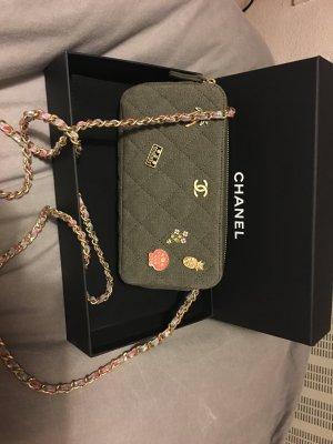Chanel pochette mit abnehmbarer Kette