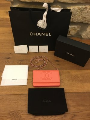 Chanel - Pochette mit Kette / Wallet on Chain