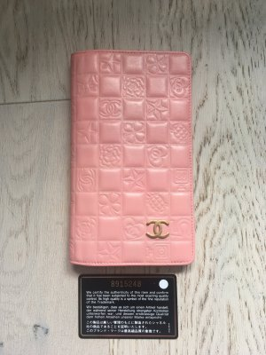 Chanel Portefeuille rose