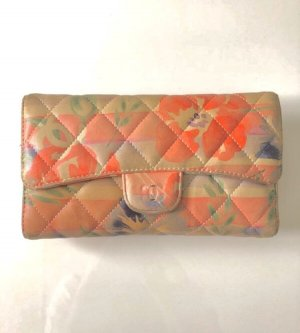 Chanel Portefeuille multicolore