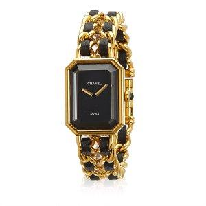 Chanel Montre doré métal