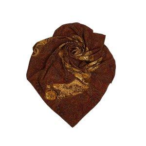 Chanel Scarf bordeaux silk
