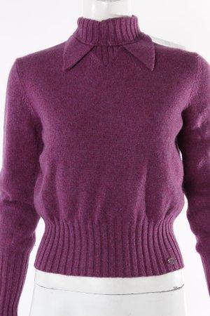 Chanel Pullover lila