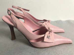 Chanel Pumps light pink leather