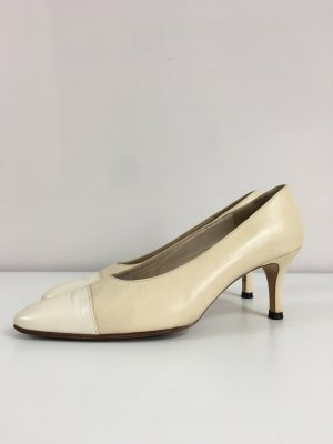 Chanel Pumps in Größe 36,5 Beige True Vintage