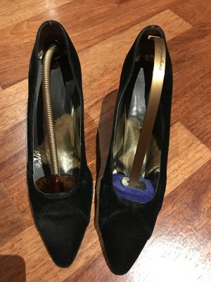Chanel pumps Wildleder gr. 38,5 vintage