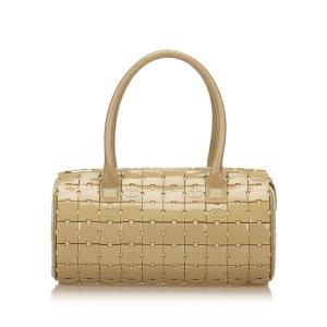 Chanel Handbag beige polyvinyl chloride