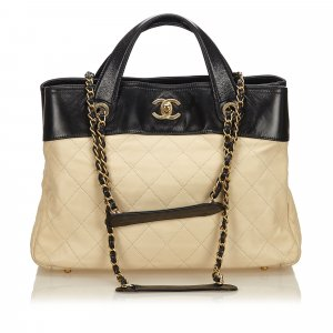 Chanel Satchel beige leather
