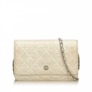 Chanel Portefeuille blanc