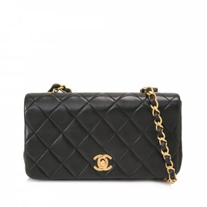 Chanel Quilted Lambskin Leather Mini Flap Bag