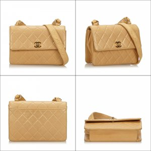 Chanel Quilted Lambskin Shoulder Bag