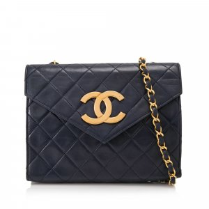 Chanel Quilted Leather Flap Crossbody