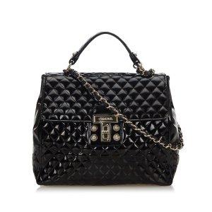 Chanel Satchel black imitation leather