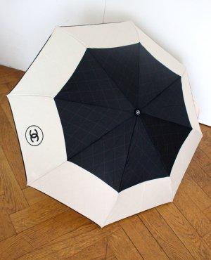 Chanel Regenschirm Schwarz - Beige