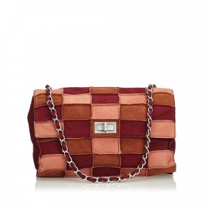 Chanel Reissue Patchwork Suede Flap Bag