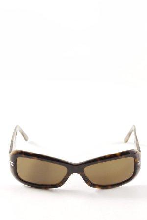 Chanel Gafas Retro multicolor Estilo años 80