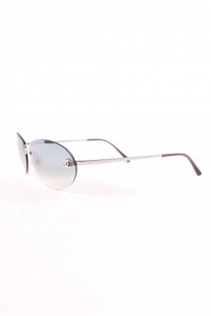 Chanel Retro Brille mehrfarbig Retro-Look