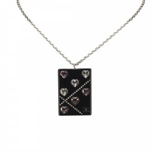 Chanel Rhinestone Studded Necklace