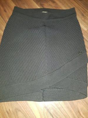 Chanel Gonna lavorata a maglia nero