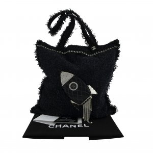 Chanel Rocket Grand Shopping Tweed Bag