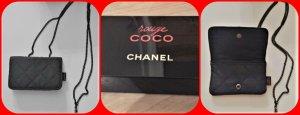 Chanel Borsellino nero Cotone