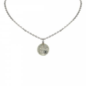 Chanel Round Pendant Necklace