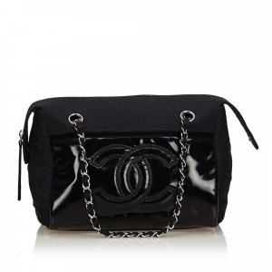 Chanel Satin Chain Shoulder Bag