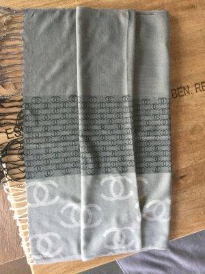 Chanel Schal in Grautönen