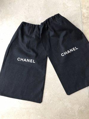 Chanel Pañuelo negro-blanco