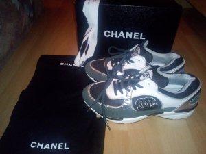 Chanel Zapatillas con tacón multicolor Cuero