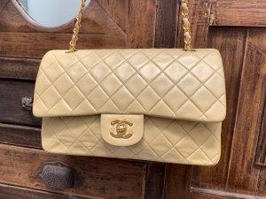 Chanel Sac porté épaule beige-beige clair