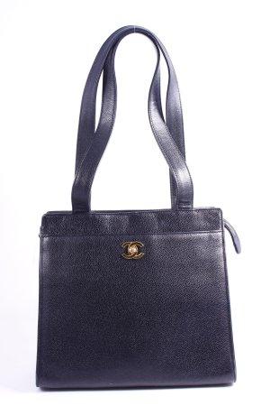Chanel Schultertasche schwarz Vintage-Artikel